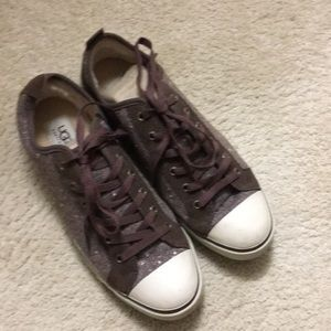 UGG shearling lined sneakers